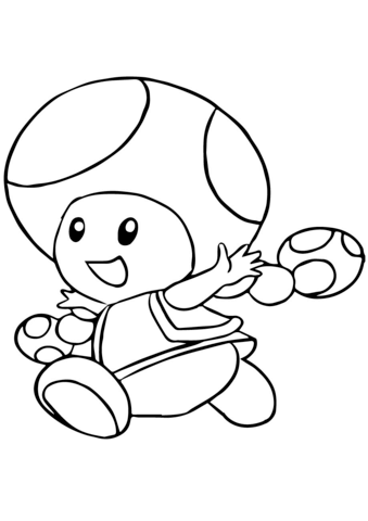 Toadette Coloring Page Mario Coloring Pages Coloring Pages Free Printable Coloring Pages