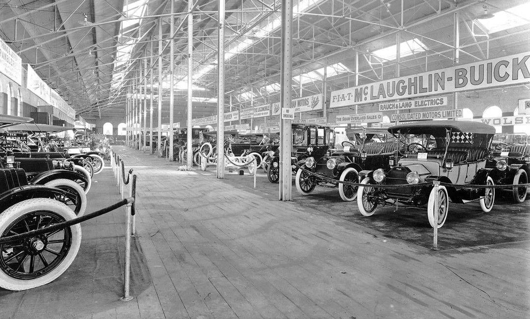 1912 Toronto Auto Show At Transportation Hall McLaughlin