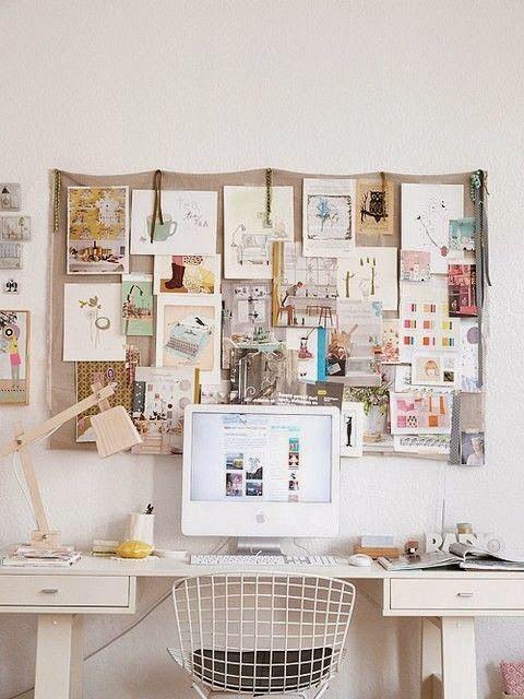80 Idees Pour Une Jolie Decoration Murale Workspace Inspiration Office Inspiration Work Space