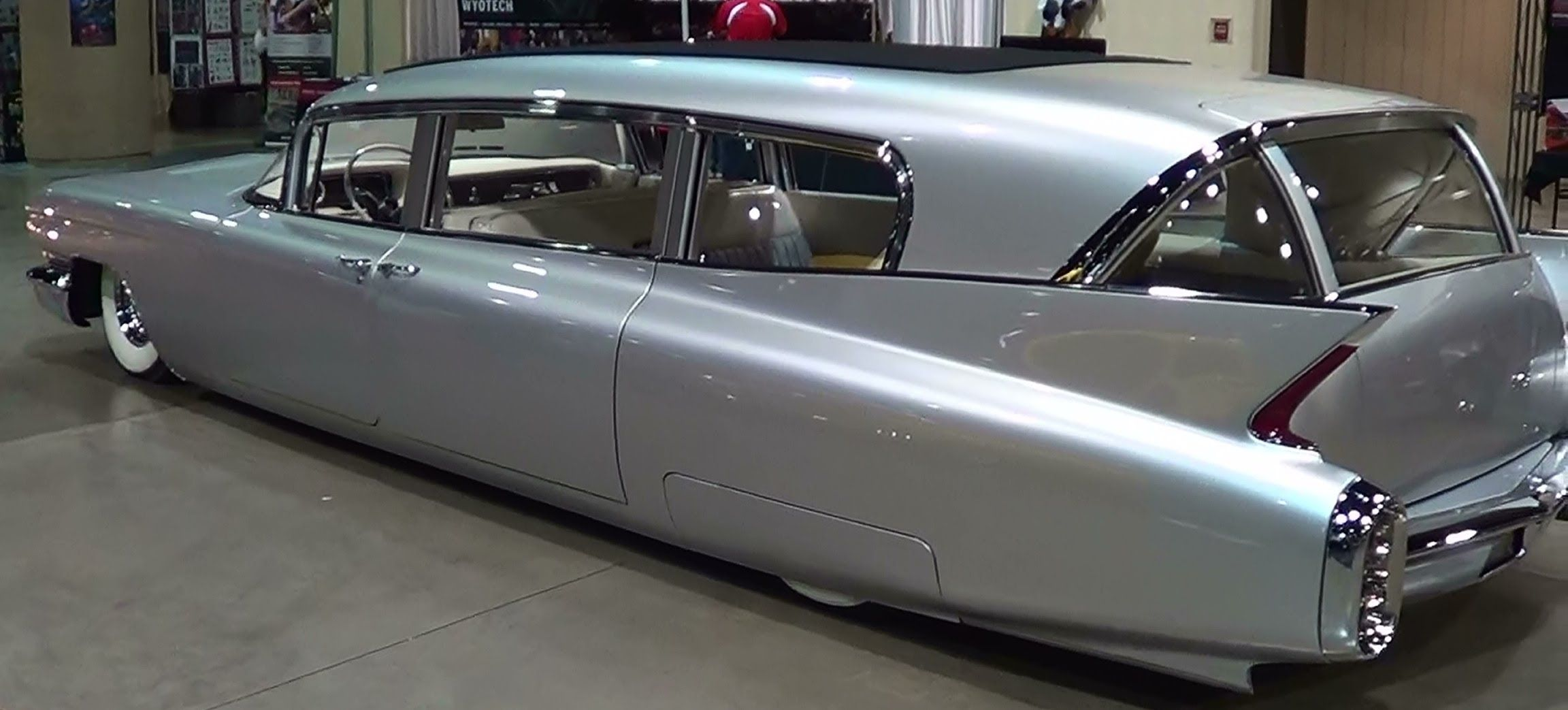 1960 Cadillac Hearse Thunder Taker 82 Mph In 2 2 Seconds