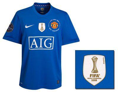 5b1985cc06b MANCHESTER UNITED THIRD jersey uefa Champions League 2008-09