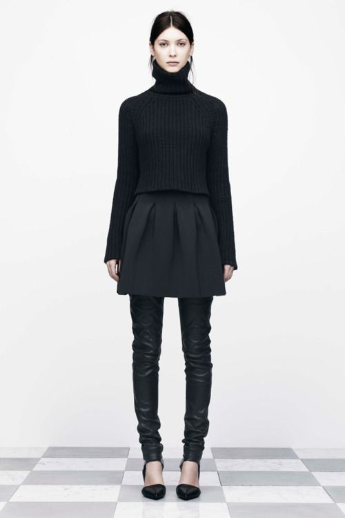 T by Alexander Wang - Black Textures