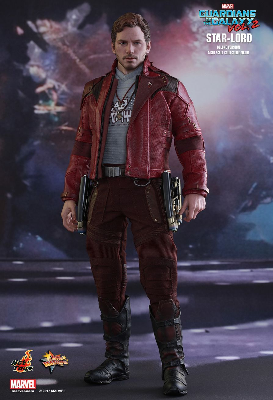 Hot Toys Guardians of the Galaxy 2 Star Lord DX Head Sculpt loose 1//6th scale