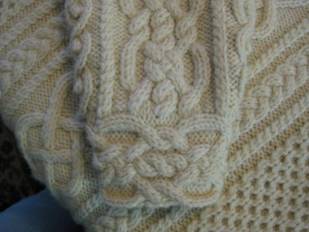 Diamond Rings Aran Knitting pattern by Catherine Berry ...