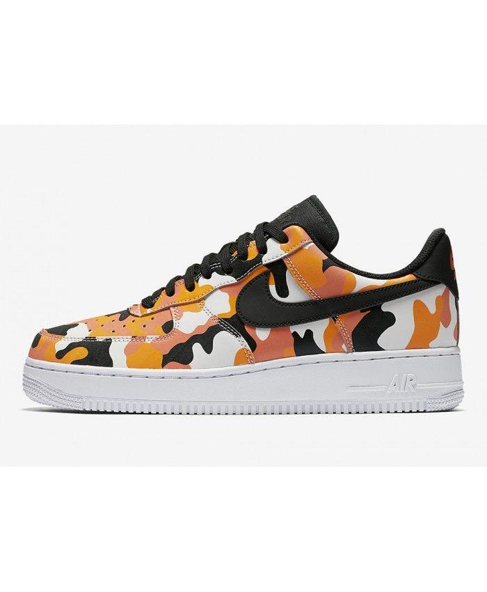 Nike Air Force 1 Low Womens Camo White Yellow Black Nike142 Nike