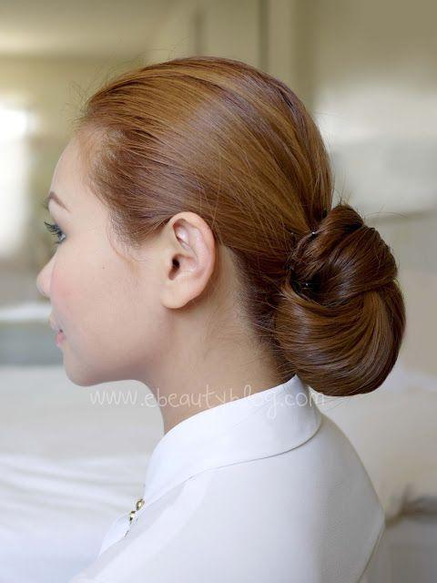 EbeautyBlog.com: Hair Tutorial: Easy Elegance Hair Bun