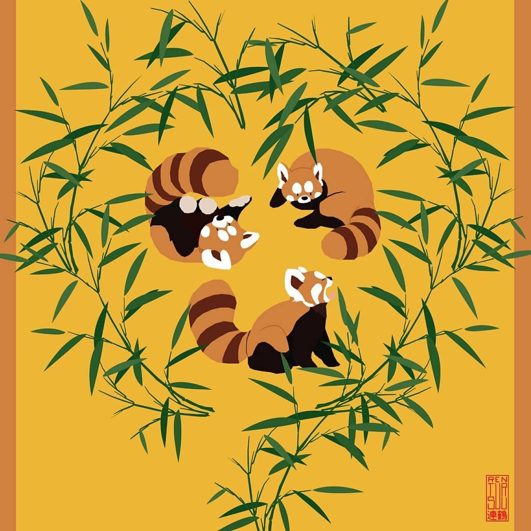 No More Red Roses Send Red Pandas Happy Valentine S Day