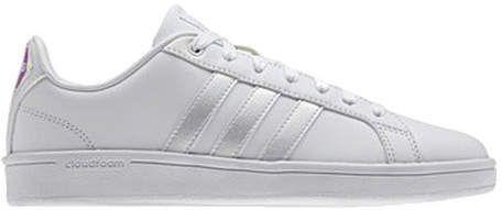 Las adidas neo cloudfoam ventaja Stripe Tribunal zapato zapatos