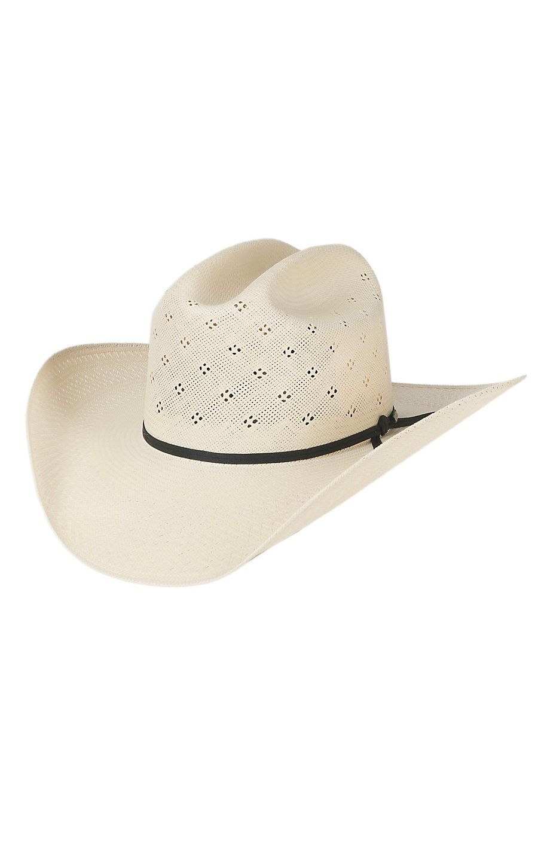 Resistol 20X Conley Natural Straw Tuf Vent Cowboy Hat  4cf39d14b06