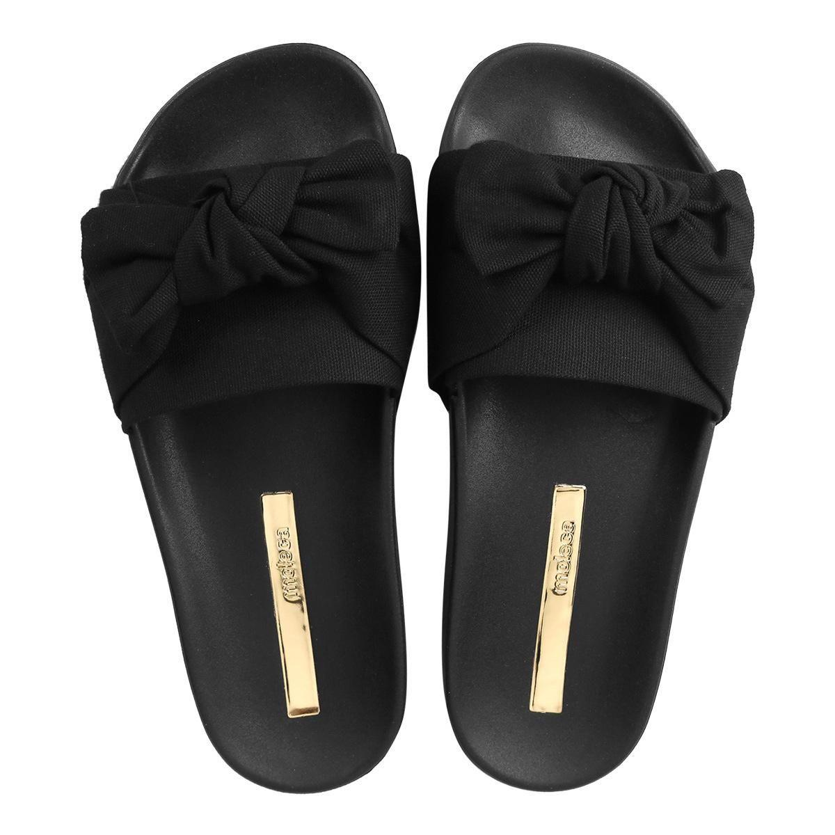 bba84f3a981ce Chinelo Moleca Slide Laço Feminino - Compre Agora   Netshoes   mimos ...