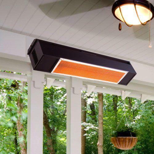 SunPak   12002 2   S34 Natural Gas Outdoor Hanging Patio Heater    Aluminized Black
