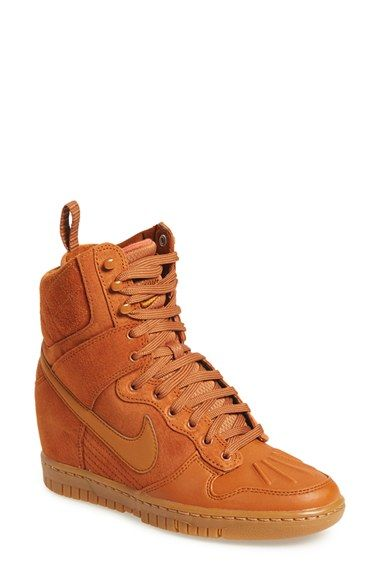 newest 64f40 a7d40 Nike  Dunk Sky Hi  Wedge Sneaker (Women) available at  Nordstrom