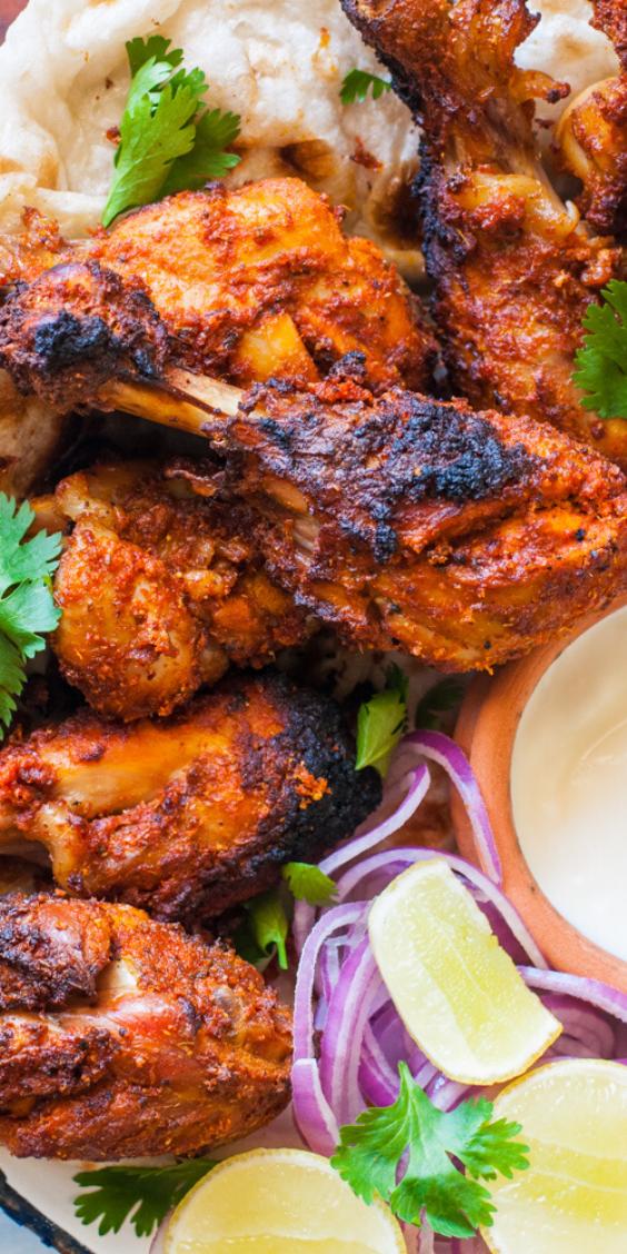 Instant Pot Tandoori Chicken- Indian Style Roast Chicken ...