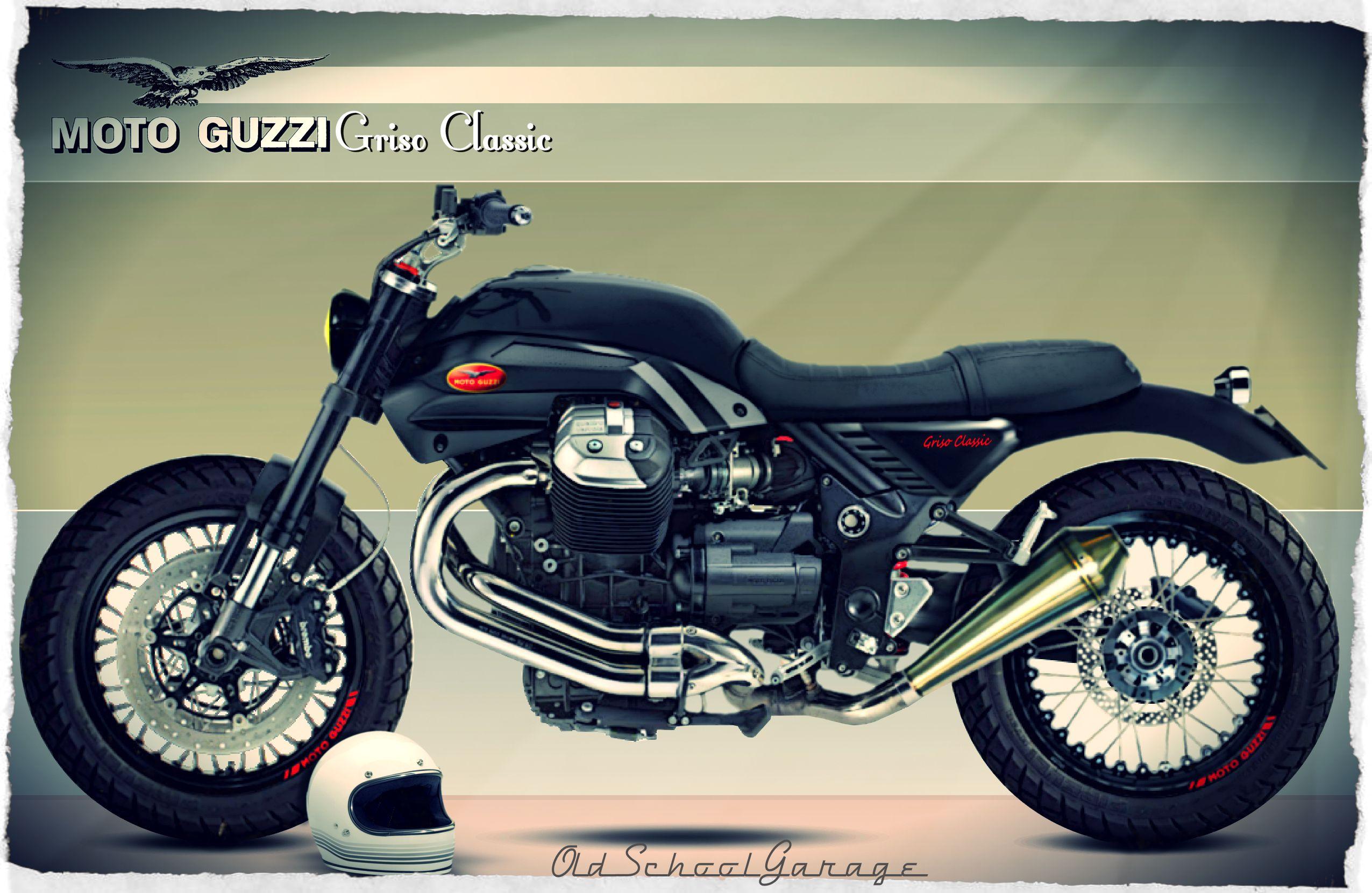 moto guzzi griso special cafe racer classic moto guzzi. Black Bedroom Furniture Sets. Home Design Ideas