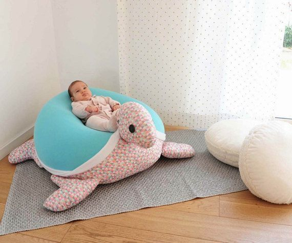 Baby beanbag mouse Kids furniture | Nursery decor pillow| Baby soft Beanbag | beanbag chair |...