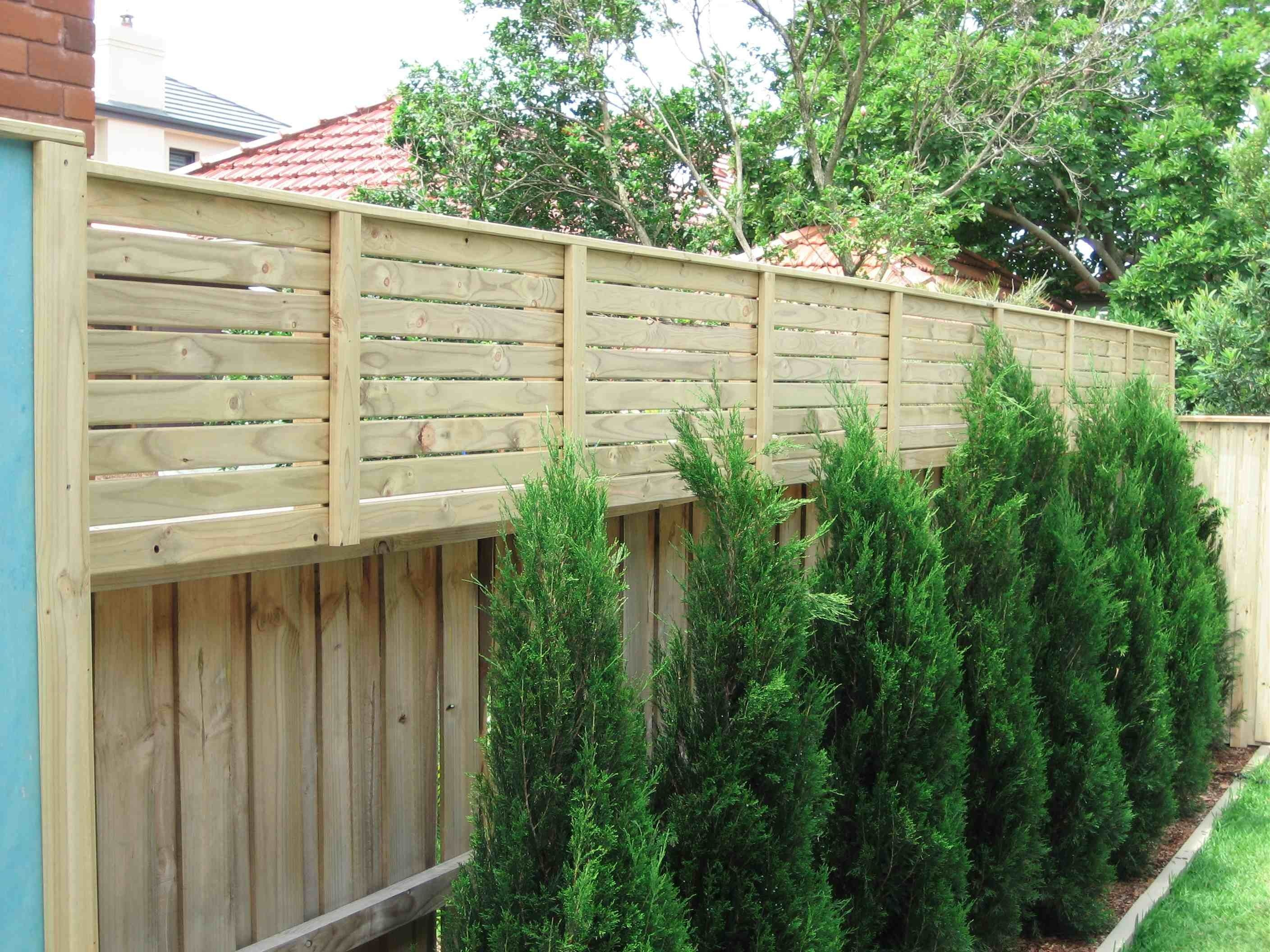 privacy screen against fence - Google Search