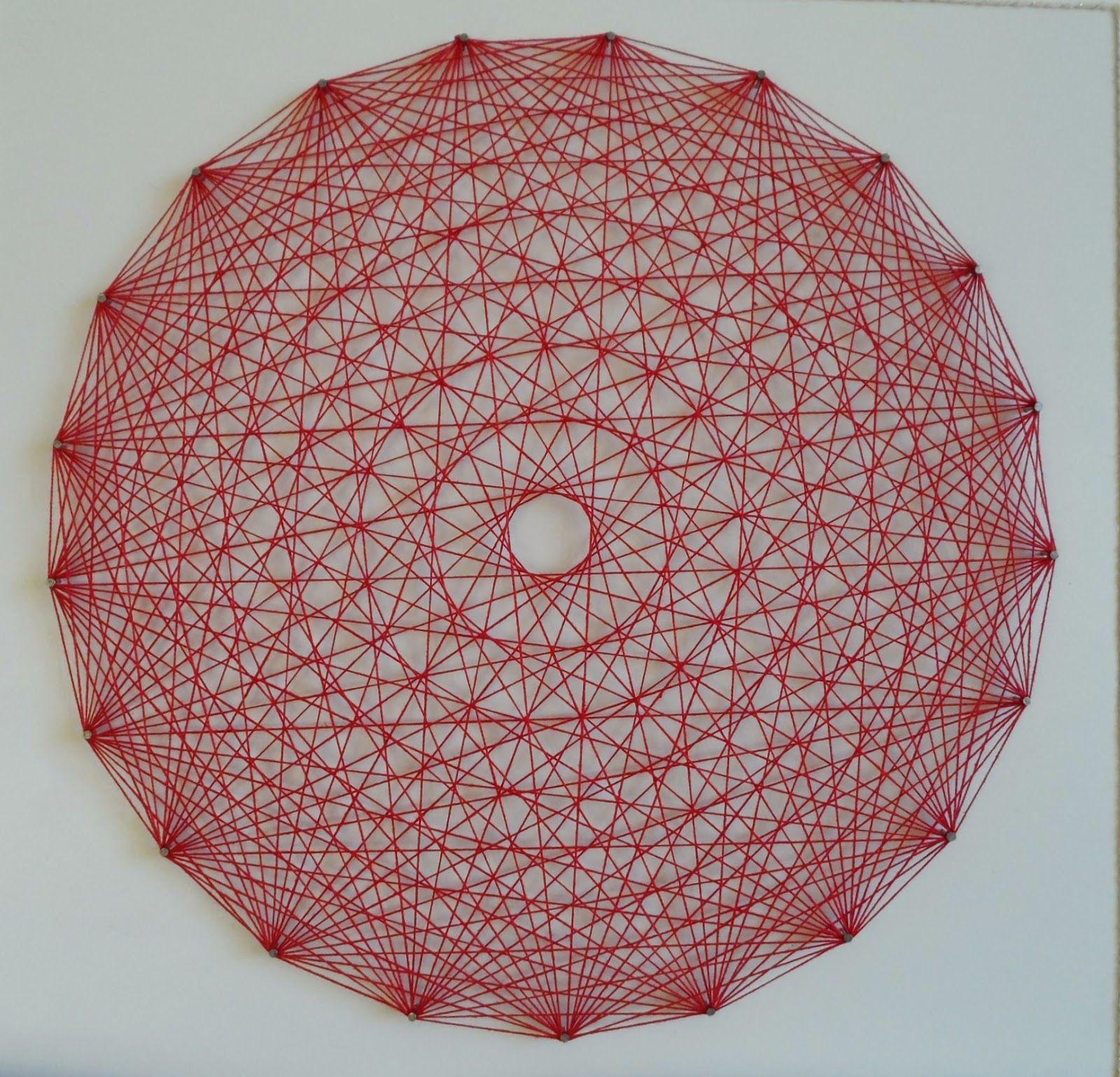 Mandala Em Arte Linear Com Imagens Arte Linear Fios De Arte