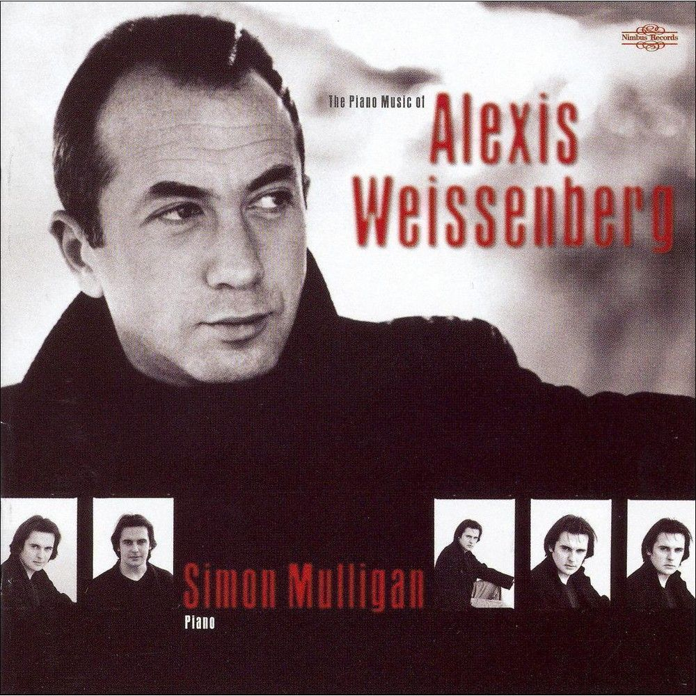 Simon Mulligan - The Piano Music of Alexis Weissenberg (CD)