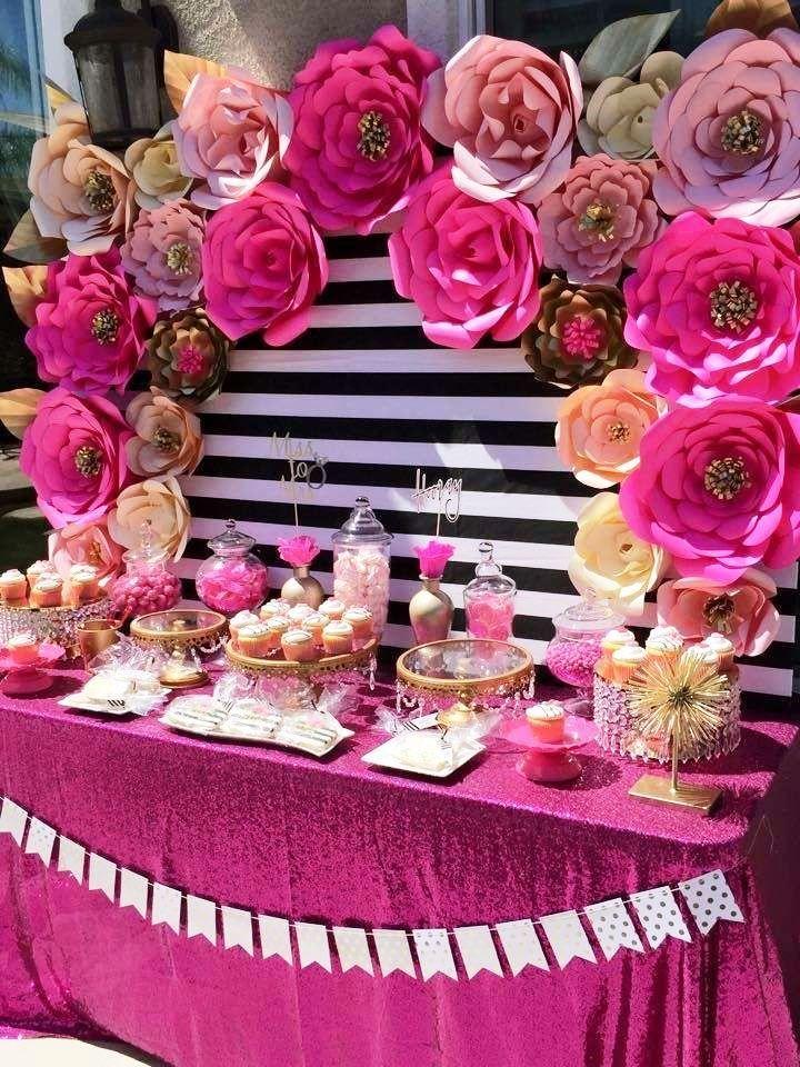 Ideas de tem tica de flores para cumplea os infantiles for Decoracion con plantas para fiestas