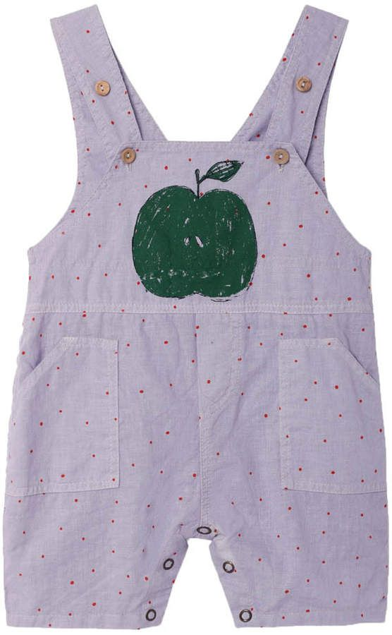 Sale - Goose Apple Dot Dungarees - The Animals Observatory The Animals Observatory cCjJikYaRq