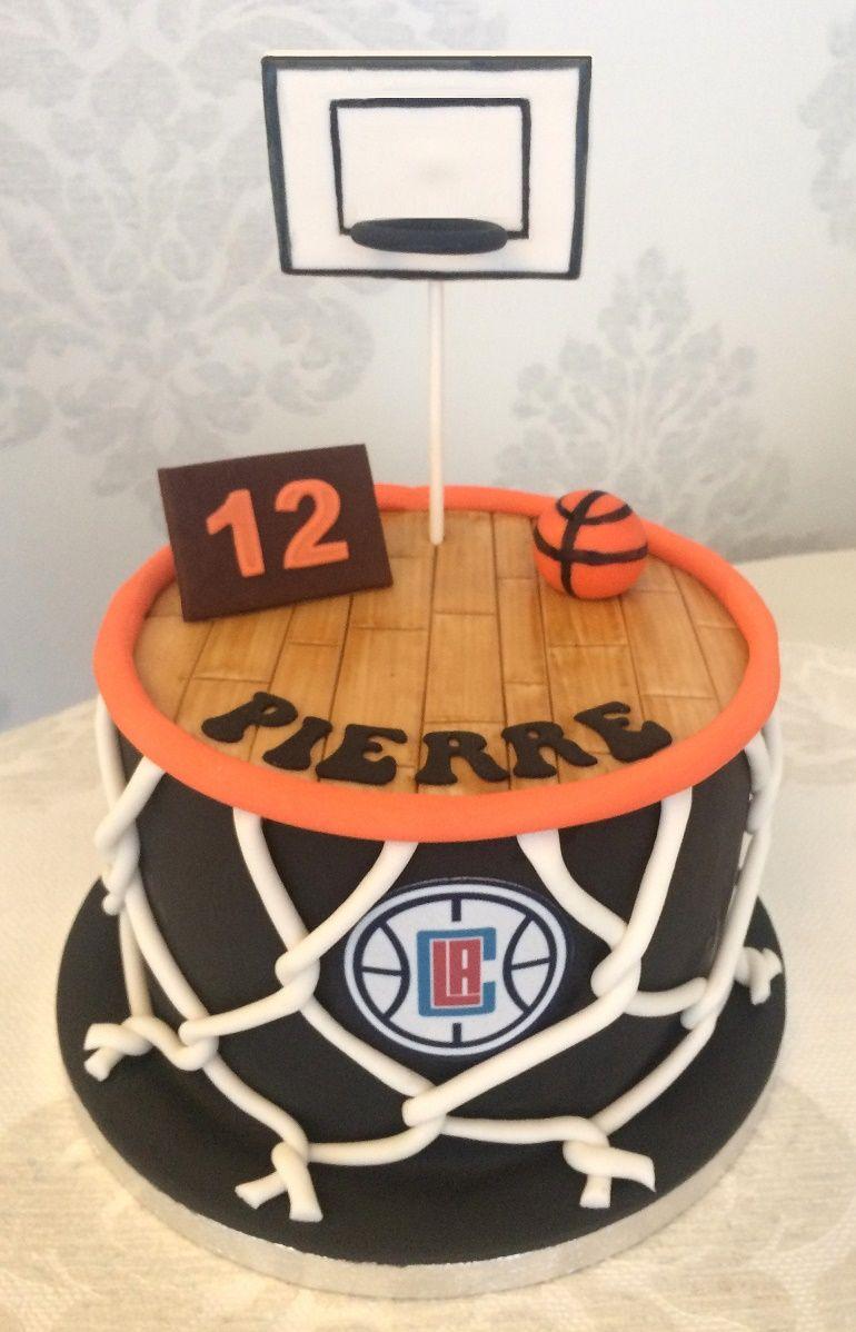 Gâteau basketball basketball cake Gâteaux étonnants