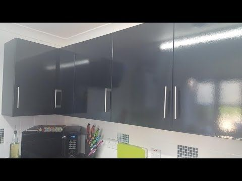 How To Wrap Kitchen Cupboards With Self Adhesive Vinyl Youtube