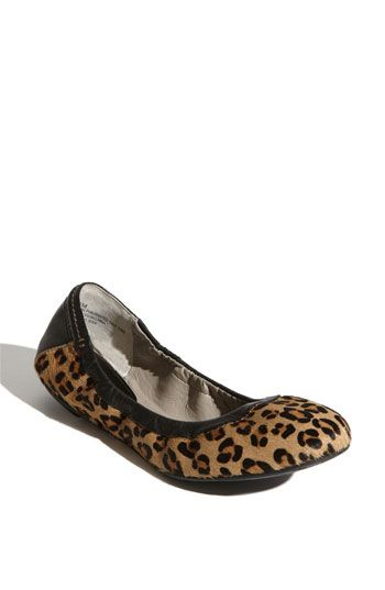 halogen leopard flats