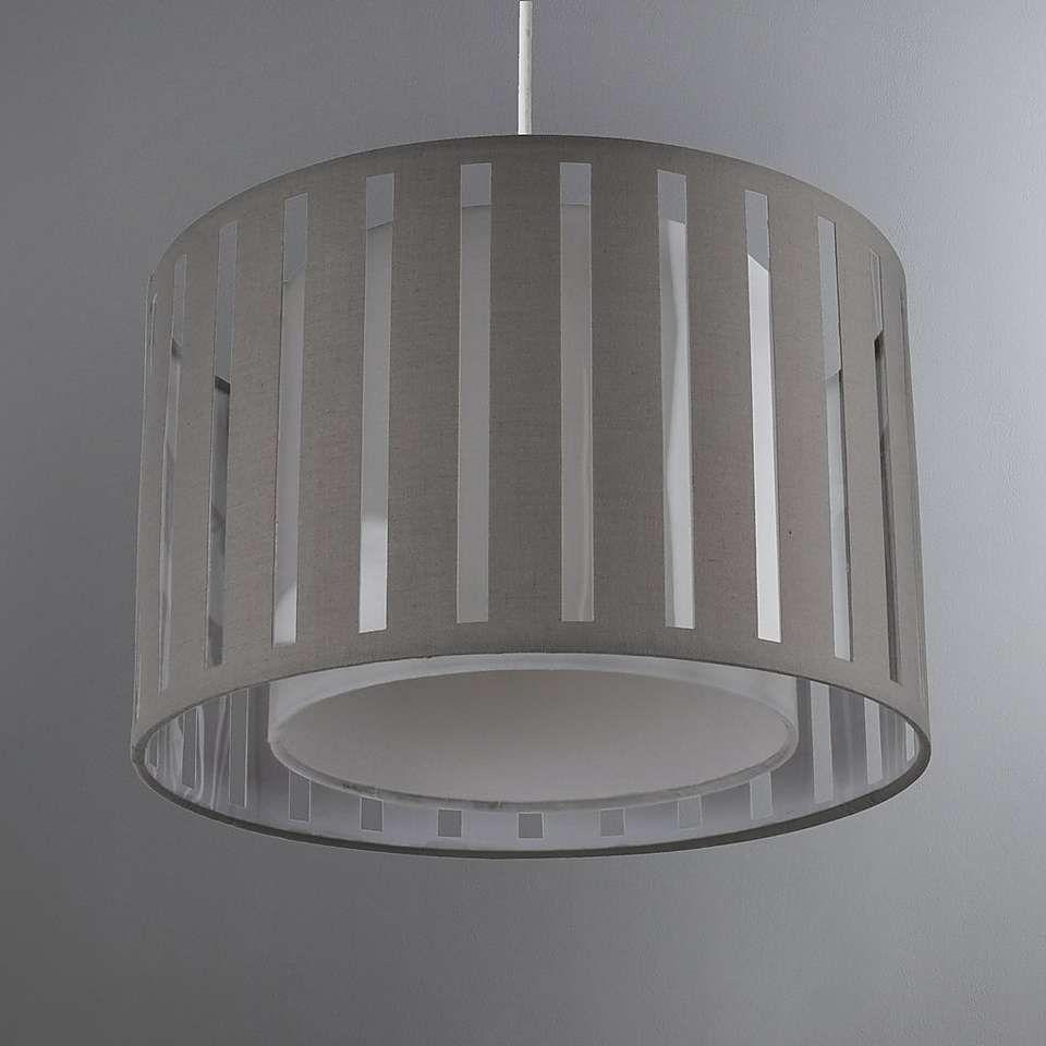 Ellon Grey Light Shade Dunelm Grey Light Shades Grey Lamp Shades Bedroom Ceiling Light