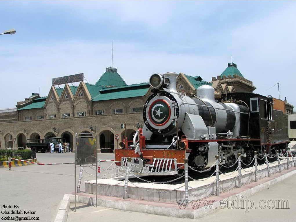 Railway System - Rawalpindi Pakistan.