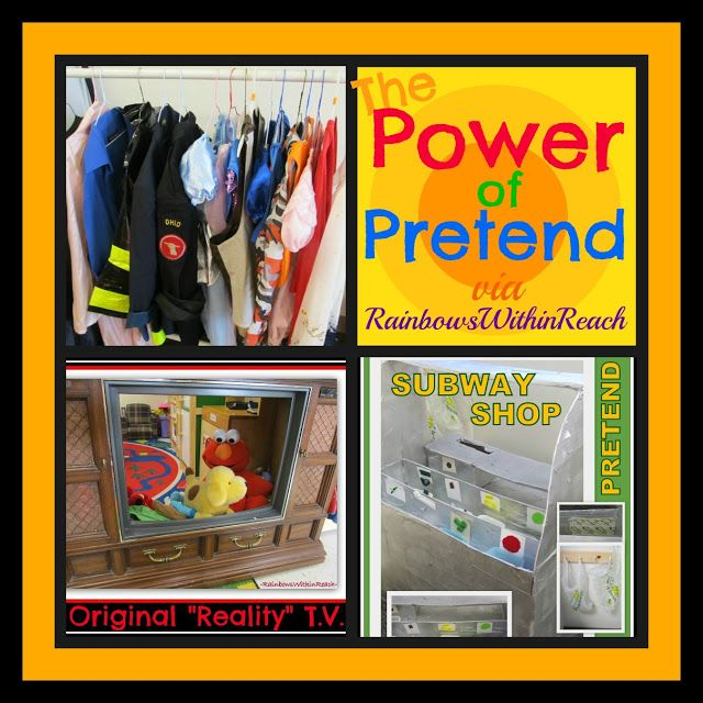 photo of: The Power of Pretend: Early Childhood 'Pretend' Centers RoundUP via RainbowsWithinReach