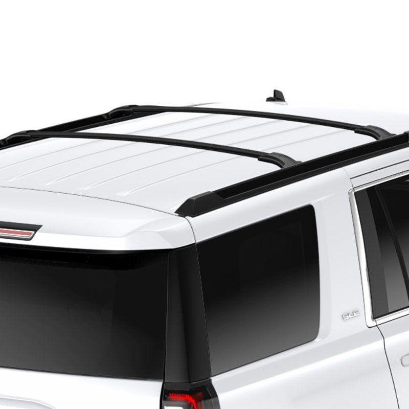Luggage Rack For Suv Cool 2016 Suburban Roof Rack Cross Rail Package Black  Roof Rack And Decorating Inspiration