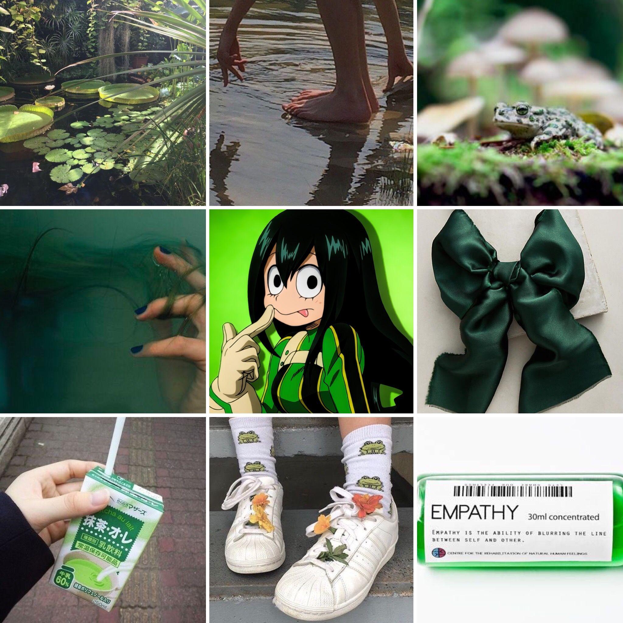 Tsuyu Asui By Sailorugh My Hero Academia Memes Aesthetic