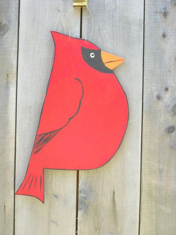 cardinal bird cardinal sign cardinal door hanger red & cardinal bird cardinal sign cardinal door hanger red | Best of ... Pezcame.Com