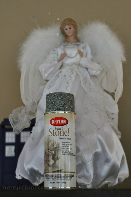 DIY - How to make a Weeping Angel tree topper | Weeping Angel ...