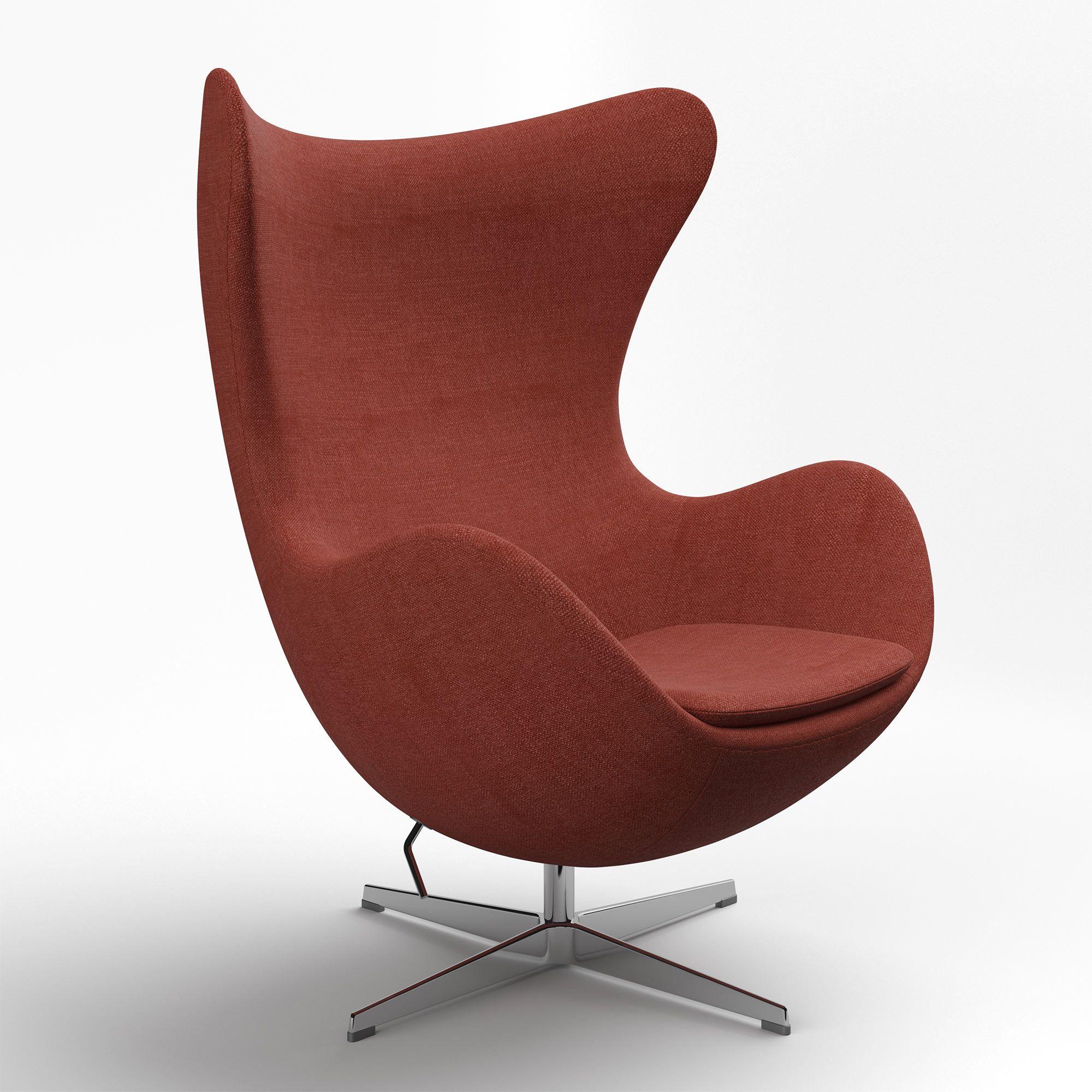 Jacobsen Egg Chair Egg chair, Chair, Upholstered swivel