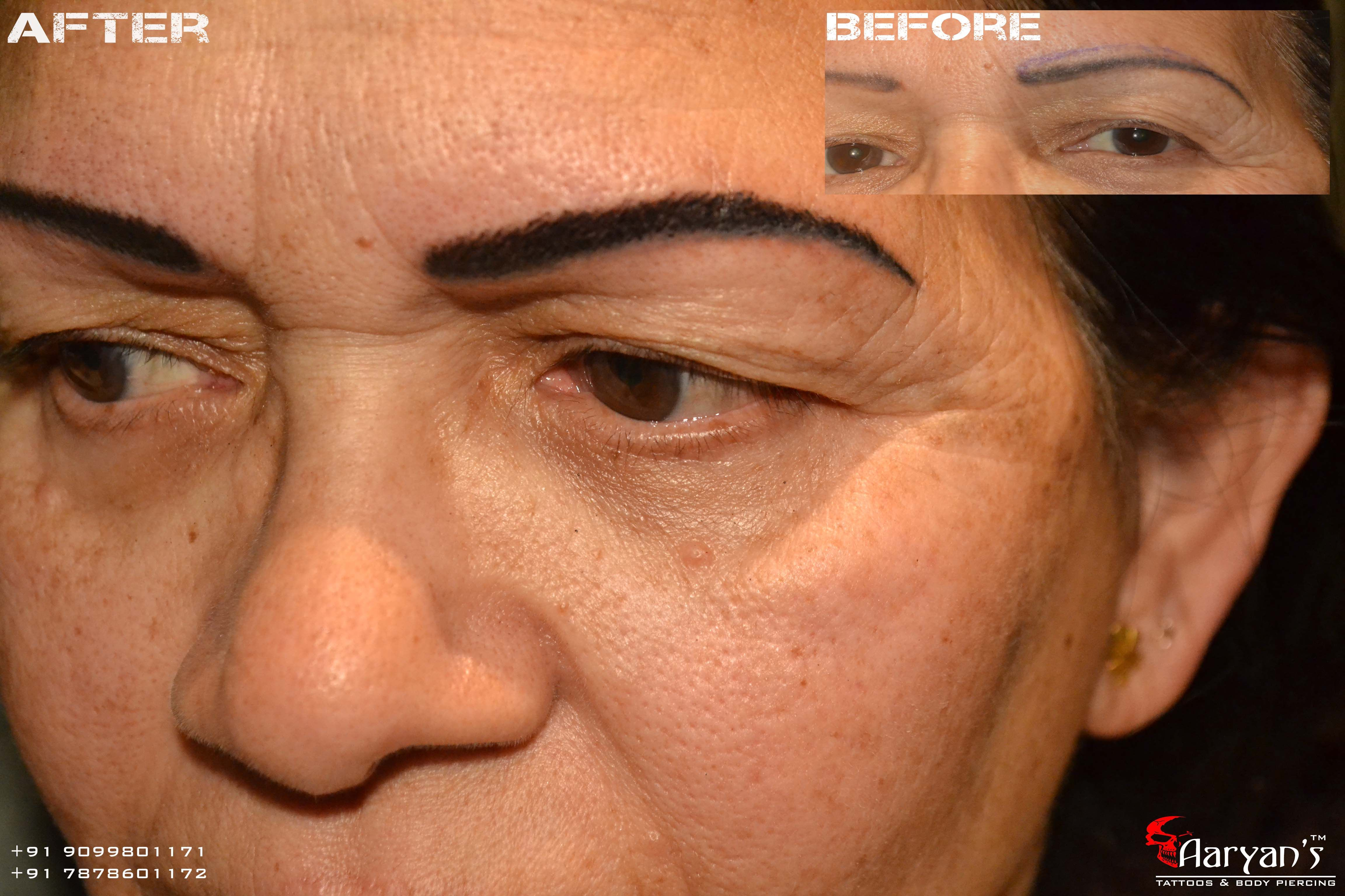 Looking For Feather Eyebrow Tattoo The Best Place To Get It