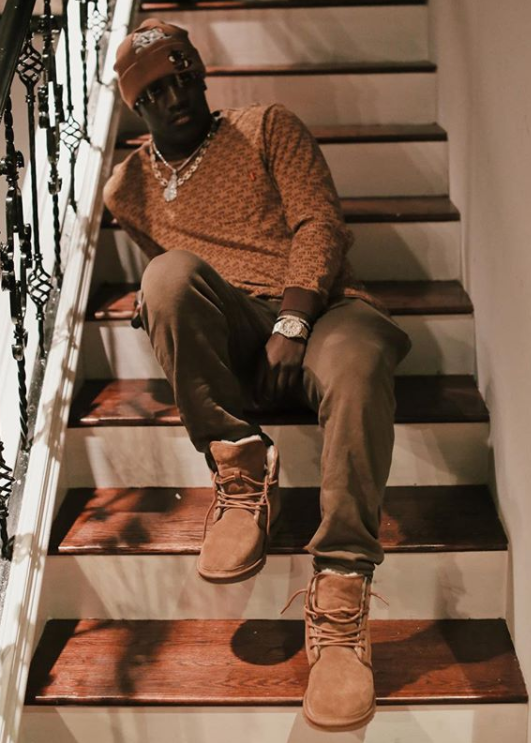 36dc42b2180 Lil Yachty wears harkley classic boots chestnut by UGG | Winter in ...