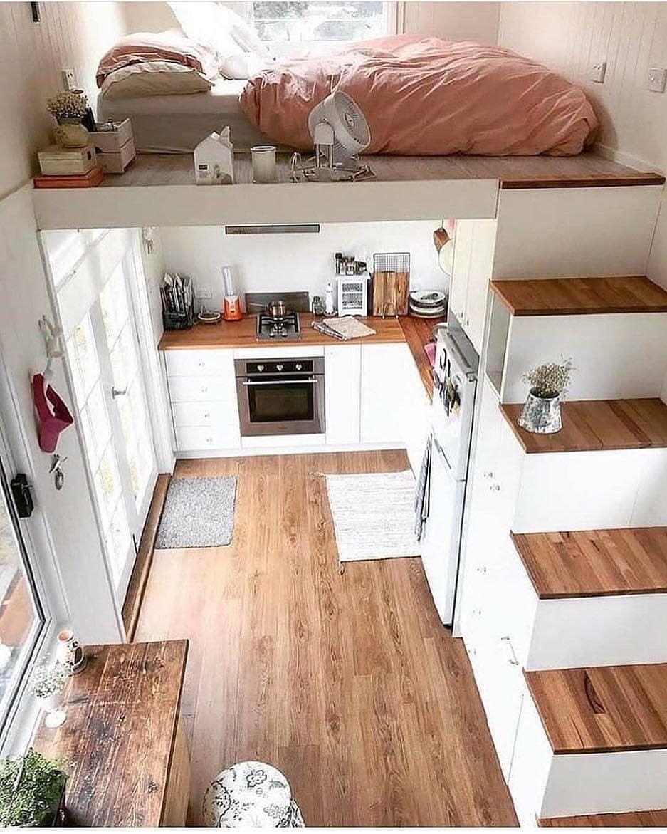 A 40 M 2 Apartment Loft Maison Mini Maison Interieur