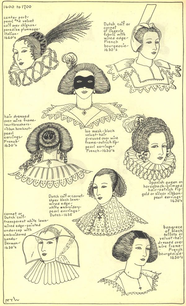 17th century hats and hairstyles photo by Idzit