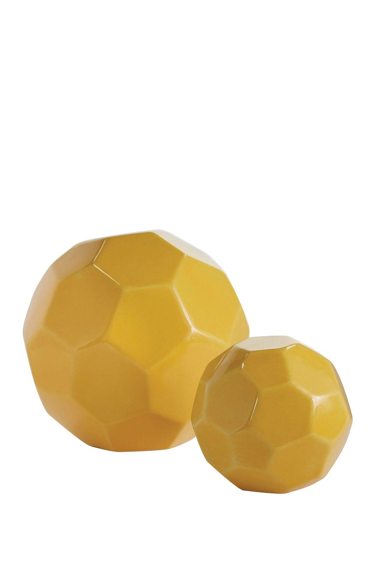 Faceted Spheres - Set of 2 | Elk, Elk lighting and Nordstrom