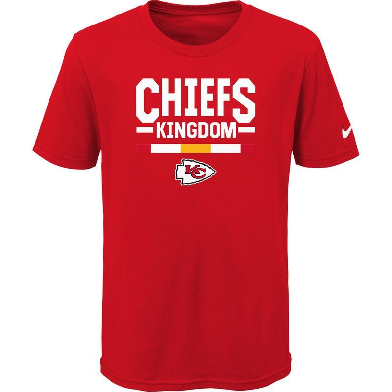 Kansas City Chiefs Nike Youth Verbiage T-Shirt - Red
