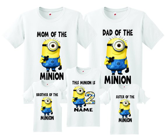 Custom Personalized Minion T-Shirt or Creeper