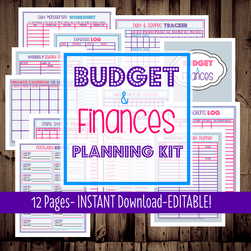 How To Budget Setting Up A Budget Getting Bills Paid