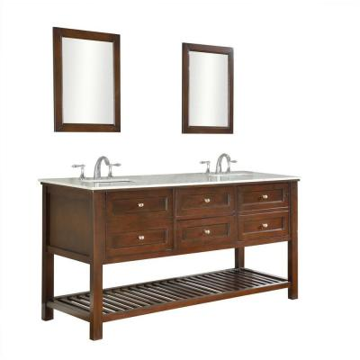 Direct vanity sink Mission Spa 70 in. Double Vanity in ...