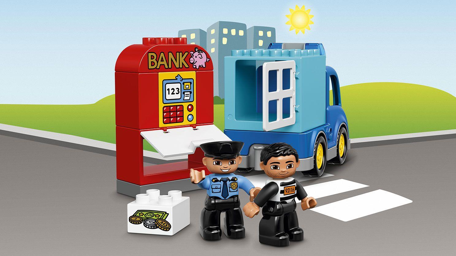 Own Duplo City, Police Patrol, April 2016