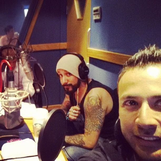 Doing a bunch of interviews for radio stations all over the UK!