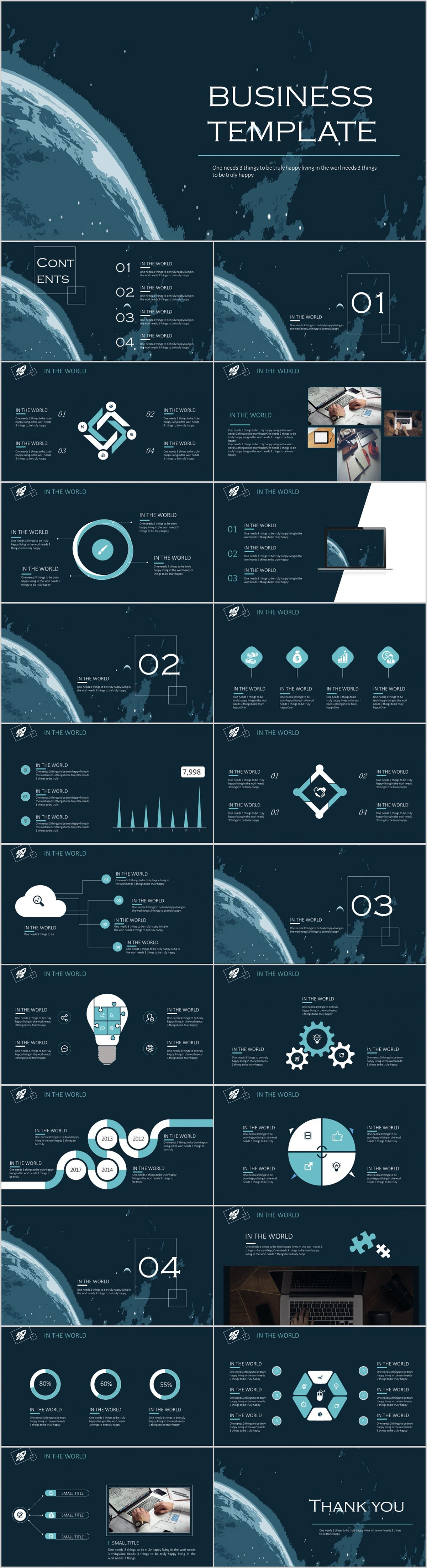 23 earth presentation powerpoint templates on behance powerpoint