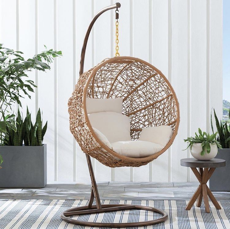 Stupendous Pin By Ashley On Outdoor Ideas All Modern Hanging Chair Onthecornerstone Fun Painted Chair Ideas Images Onthecornerstoneorg