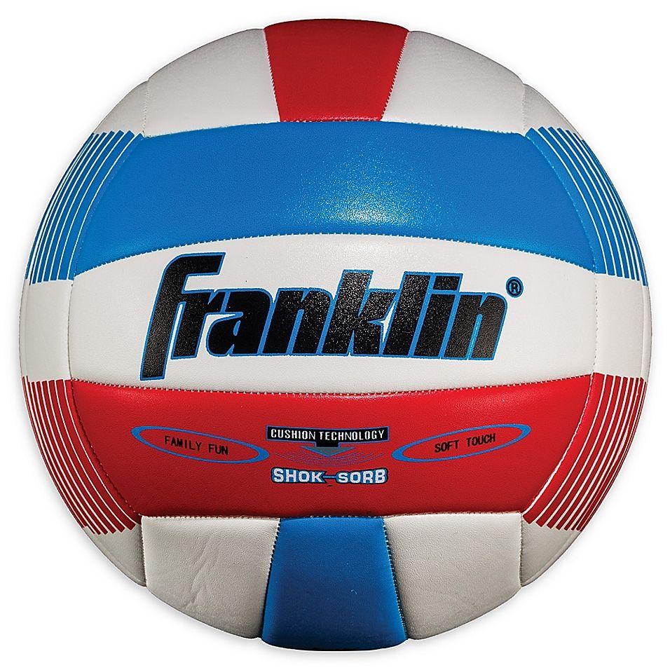 Franklin Sports Super Soft Spike Volleyball In Red White Blue Spike Volleyball Franklin Sports Volleyball Designs