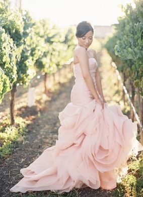 Vera Wang - Beautiful pink dress
